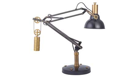 Pendulux, clocks. lamps, table clocks, table lamps, ipad stand, easel, ipad easel, Patrick and Company