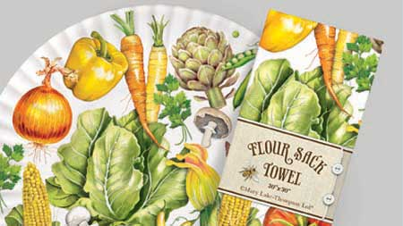 Mary Lake Thompson, home, napkins, table ware, towels, giftware, home products, decor, Patrick and Company, wholesale