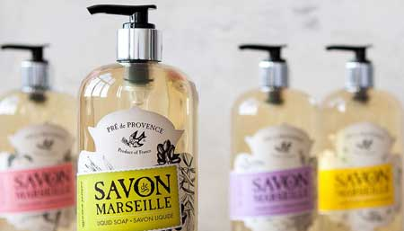 European Soaps, all natural soaps from France and Italy, wholesale, Patrick and Company